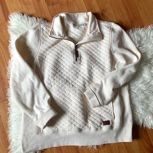 L.L.Bean quilted pull-over